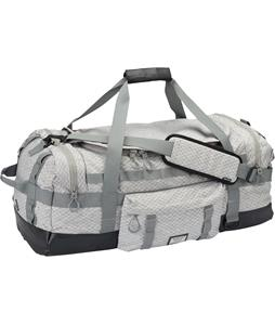 Burton Performer Elite 70L Duffel Bag Gray Heather Diamond Ripstop 70L