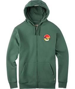 Burton Performer Full-Zip Hoodie Duck Green