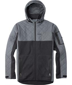 Burton Pierce Fleece True Black Heather