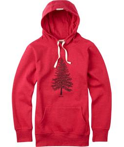 Burton Pine Pullover Hoodie Tango Red Heather