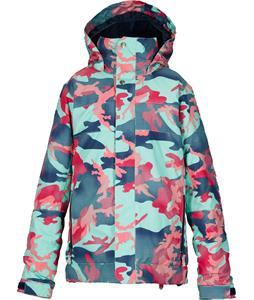 Burton Piper Snowboard Jacket Jadeite Pop Camo