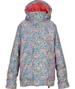 Burton Piper Snowboard Jacket Sweetpea Confetti Floral Print