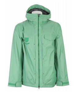 Burton Restricted Plainview Snowboard Jacket Green Screen