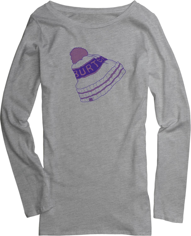 Burton Pom L/S Crew T-Shirt bt3pmlcg04grh15zz-burton-t-shirts