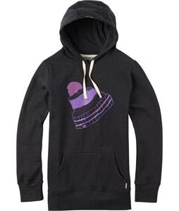 Burton Pom Pullover Hoodie True Black Heather