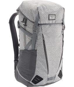 Burton Prism Backpack Gray Heather Diamond Ripstop 30L