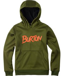 Burton Pullover Bonded Hoodie Rifle Green Heather