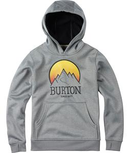 Burton Pullover Bonded Hoodie Monument Heather
