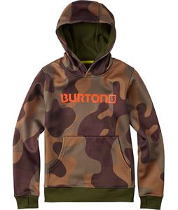 Burton Pullover Bonded Hoodie Mountain Camo