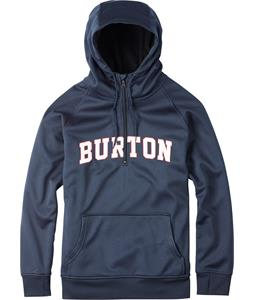 Burton Quarter Zip Bonded Hoodie Eclipse Heather