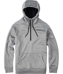Burton Quarter Zip Bonded Hoodie Monument Heather