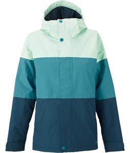 Burton Radiant Snowboard Jacket Millimint Colorblock