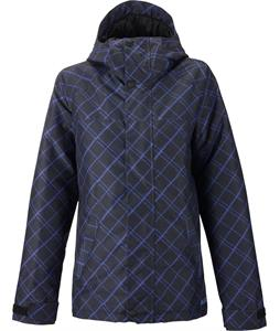 Burton Radiant Snowboard Jacket Diagonal Check