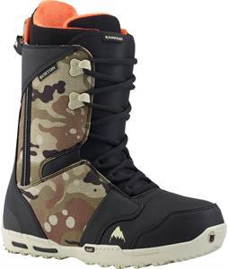 Burton Rampant Snowboard Boots Camo Toe
