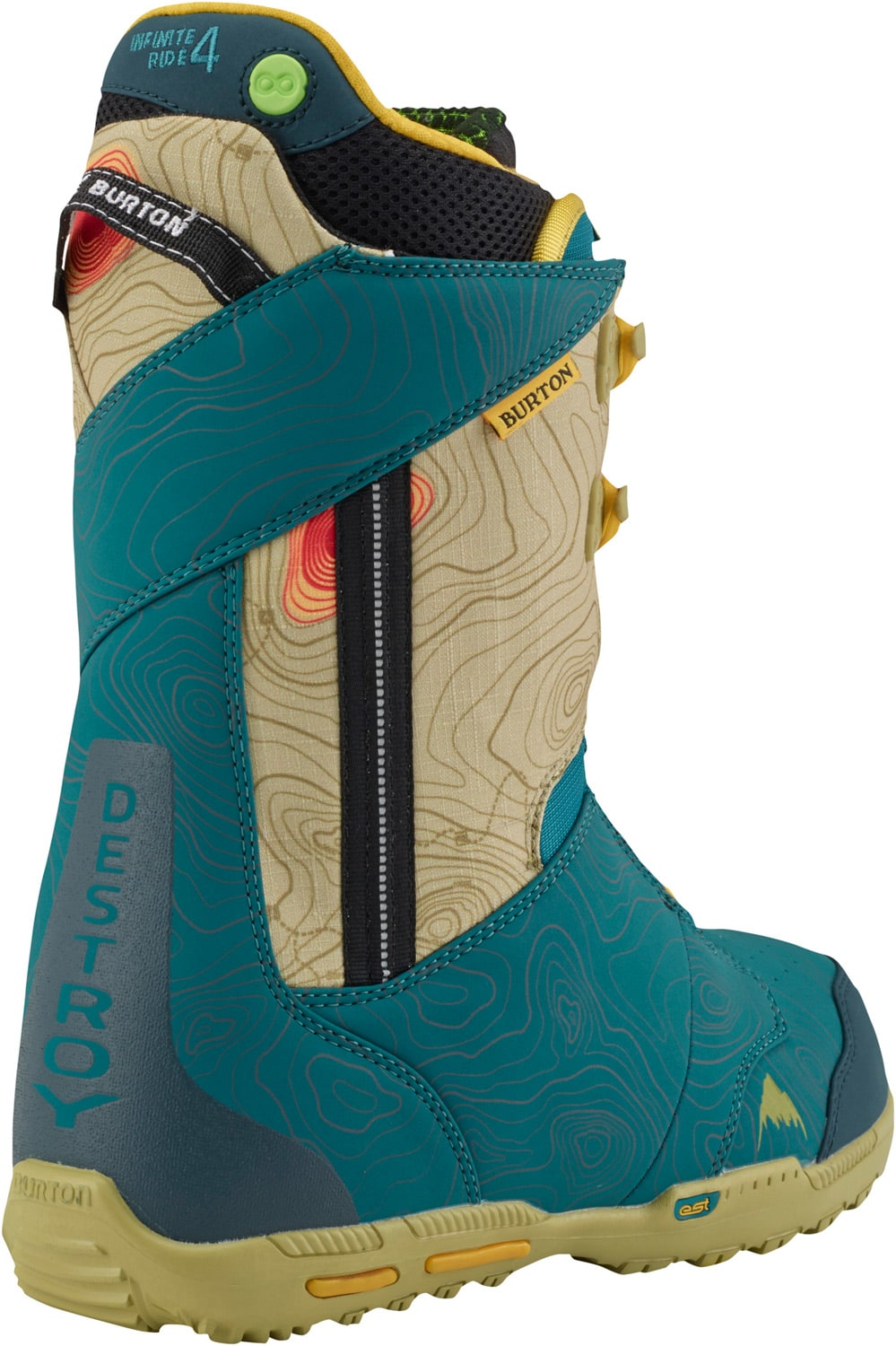 On sale burton rampant ltd snowboard boots up to 45 off for Housse burton snowboard