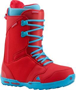 Burton Rampant Snowboard Boots Red/Blue