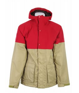 Burton Restricted Chigurh Snowboard Jacket Venom/Redical
