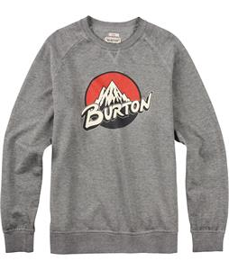Burton Retro Lockup Crew Pullover Sweatshirt