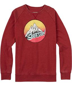 Burton Retro Mountain Crew Sweatshirt