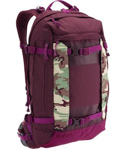 Burton Riders 22L Backpack Frog Camo 22L