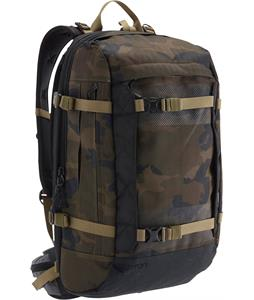 Burton Riders 25L Backpack Lowland Camo Herringbone