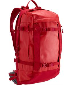 Burton Riders 25L Backpack Real Red Tarp 25L