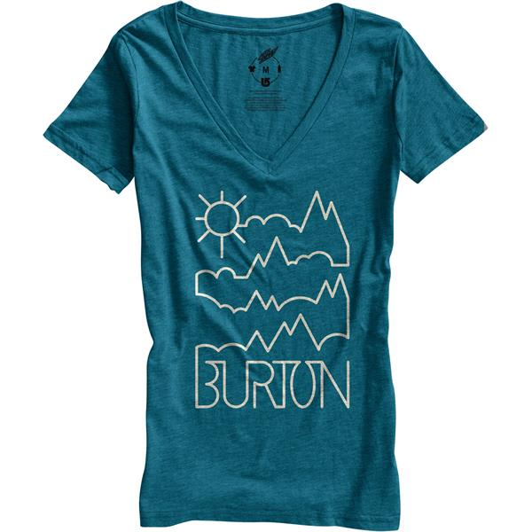 Burton Rise and Shine Recycled V-Neck T-Shirt