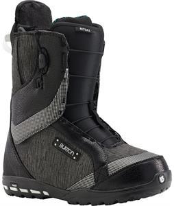 Burton Ritual Snowboard Boots Black/White/Silver
