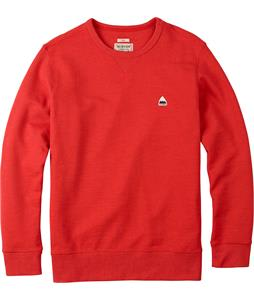 Burton Roe Crew Sweatshirt Flame Heather