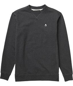 Burton Roe Crew Sweatshirt True Black Heather