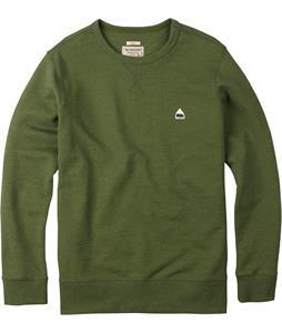 Burton Roe Crew Sweatshirt Rifle Green Heather