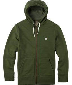 Burton Roe Full-Zip Hoodie Rifle Green Heather