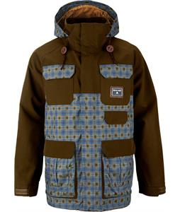 Burton Rogue Gore-Tex Snowboard Jacket Woody/Scotch Egg Plaid