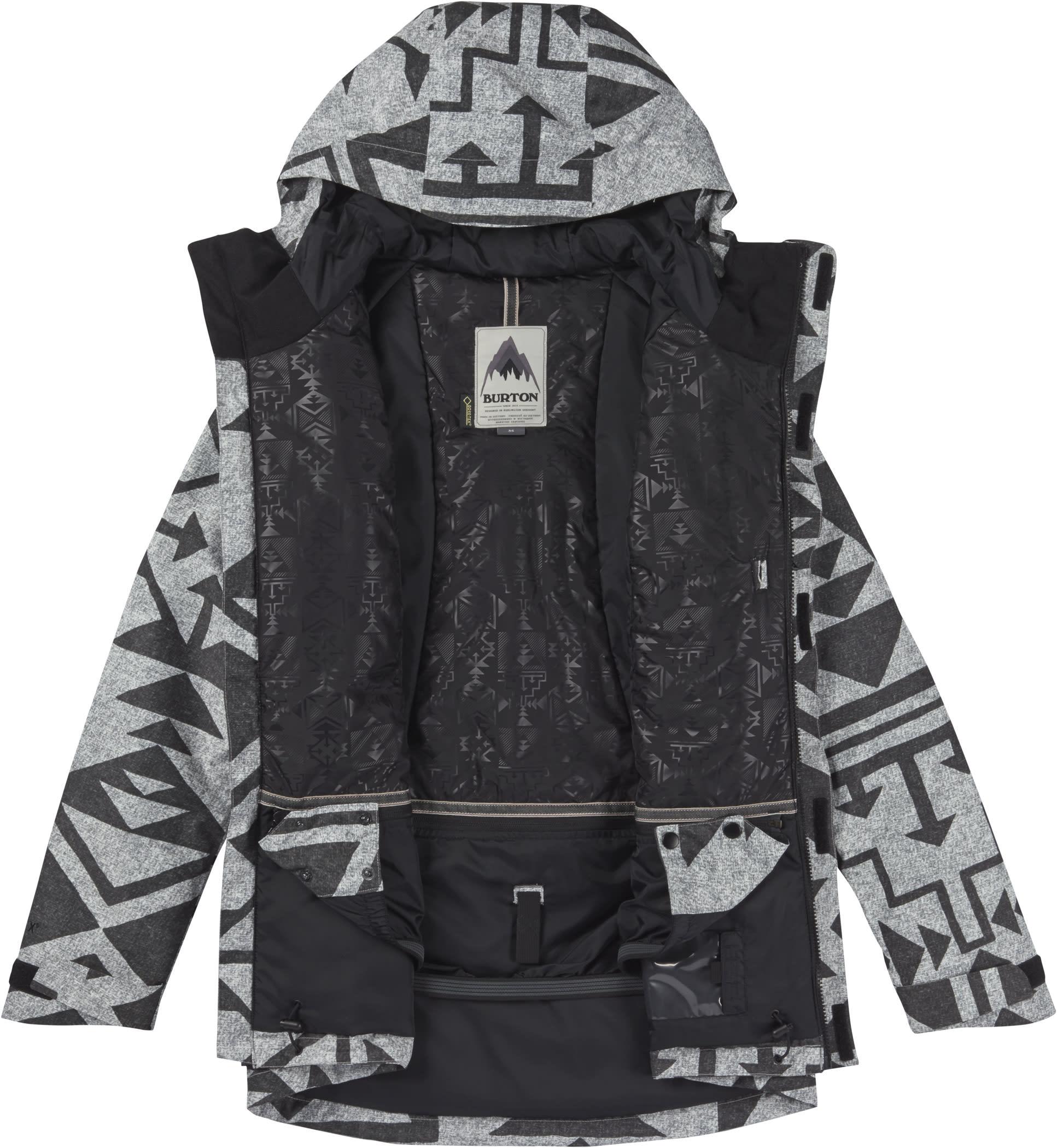 On sale burton rubix gore tex snowboard jacket womens 2017 for Housse snowboard burton