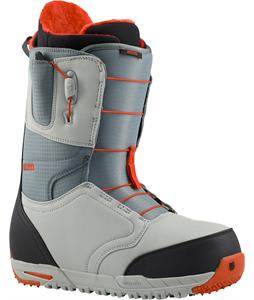 Burton Ruler Snowboard Boots Gray/Black/Red