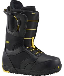 Burton Ruler-Wide Snowboard Boots Black/Yellow