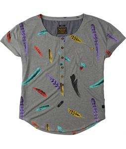 Burton Salvador Shirt Monument Heather Feather