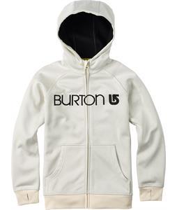 Burton Scoop Hoodie True Black Heather/Vanilla Heather