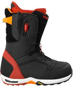 Burton Serow Snowboard Boots Black/Red/Orange