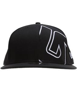 Burton Slider New Era Cap True Black w/ White Logo