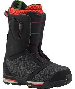 Burton Slx Snowboard Boots Black/Red