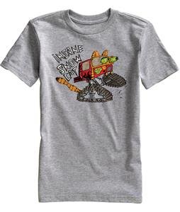 Burton Snow Cat T-Shirt Gray Heather