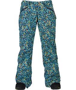 Burton Society Snowboard Pants Confetti Floral Print