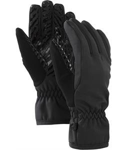 Burton Softshell Liner Gloves True Black