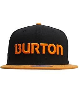 Burton Solo New Era Cap True Black