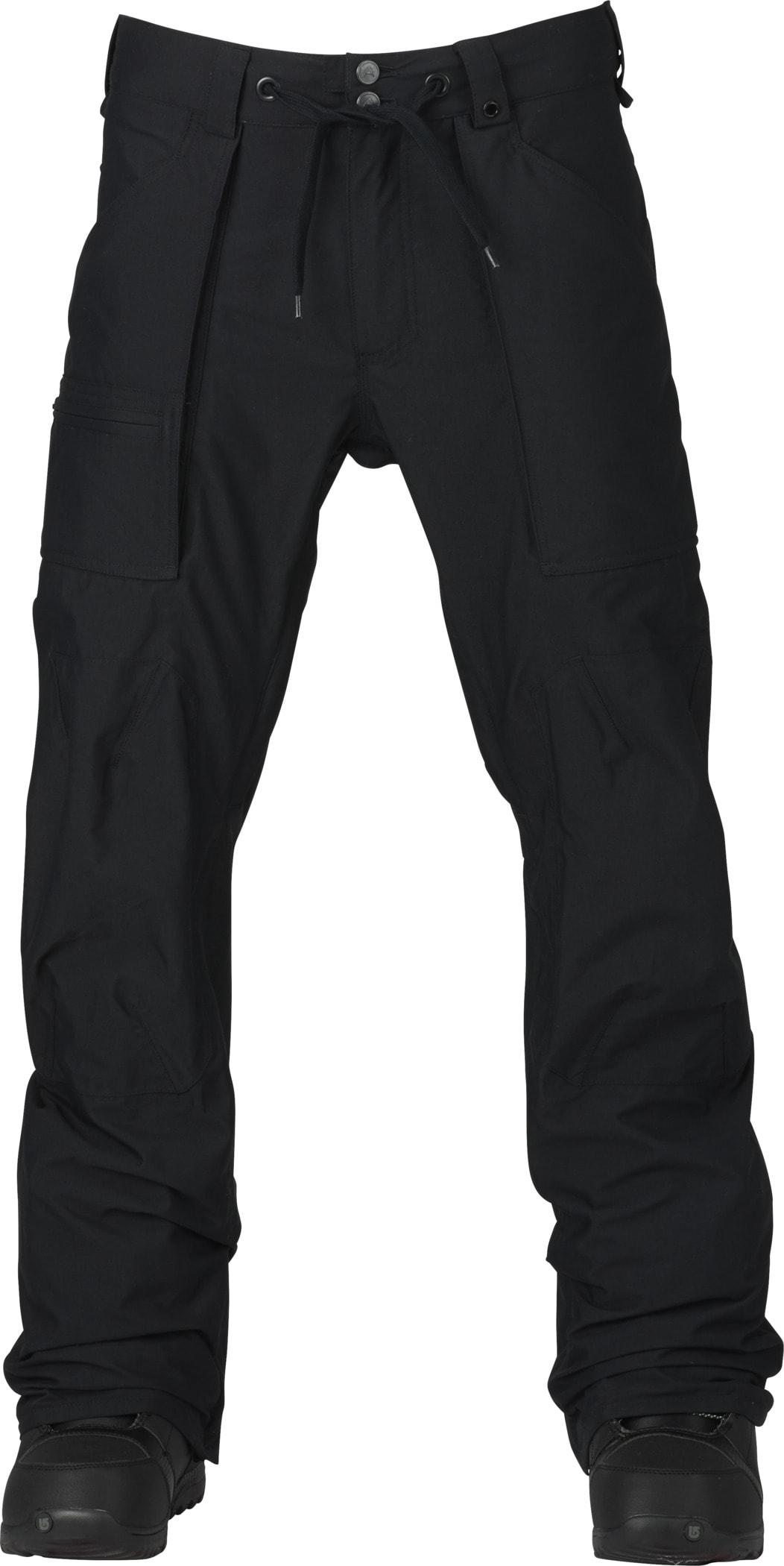 Burton Southside Mid Fit Snowboard Pants bt4ssmf02tbk17zz-burton-snowboard-pants