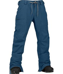 Burton Southside Mid Fit Snowboard Pants Team Blue
