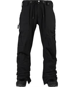 Burton Southside Mid Fit Snowboard Pants True Black