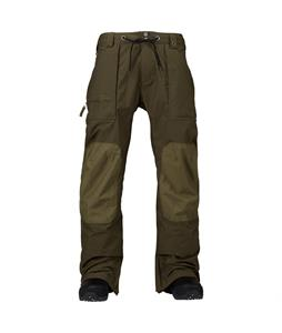 Burton Southside Mid Fit Snowboard Pants Woody/Hickory