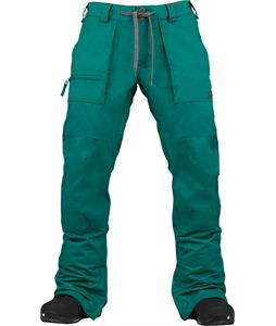 Burton Southside Slim Snowboard Pants Pine Glenn